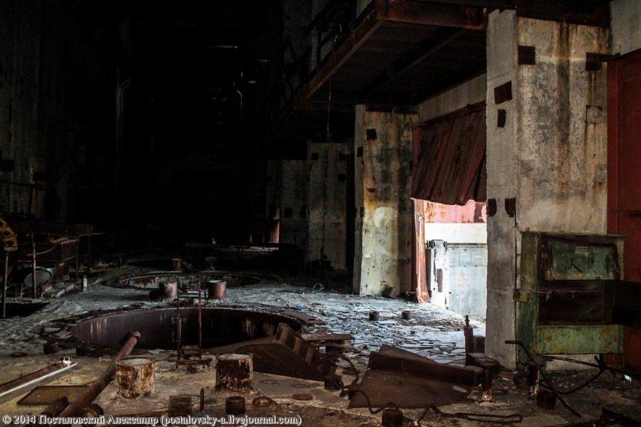 Проник в энергоблок Чернобыльской АЭС  Недостроенный реактор третьей очереди