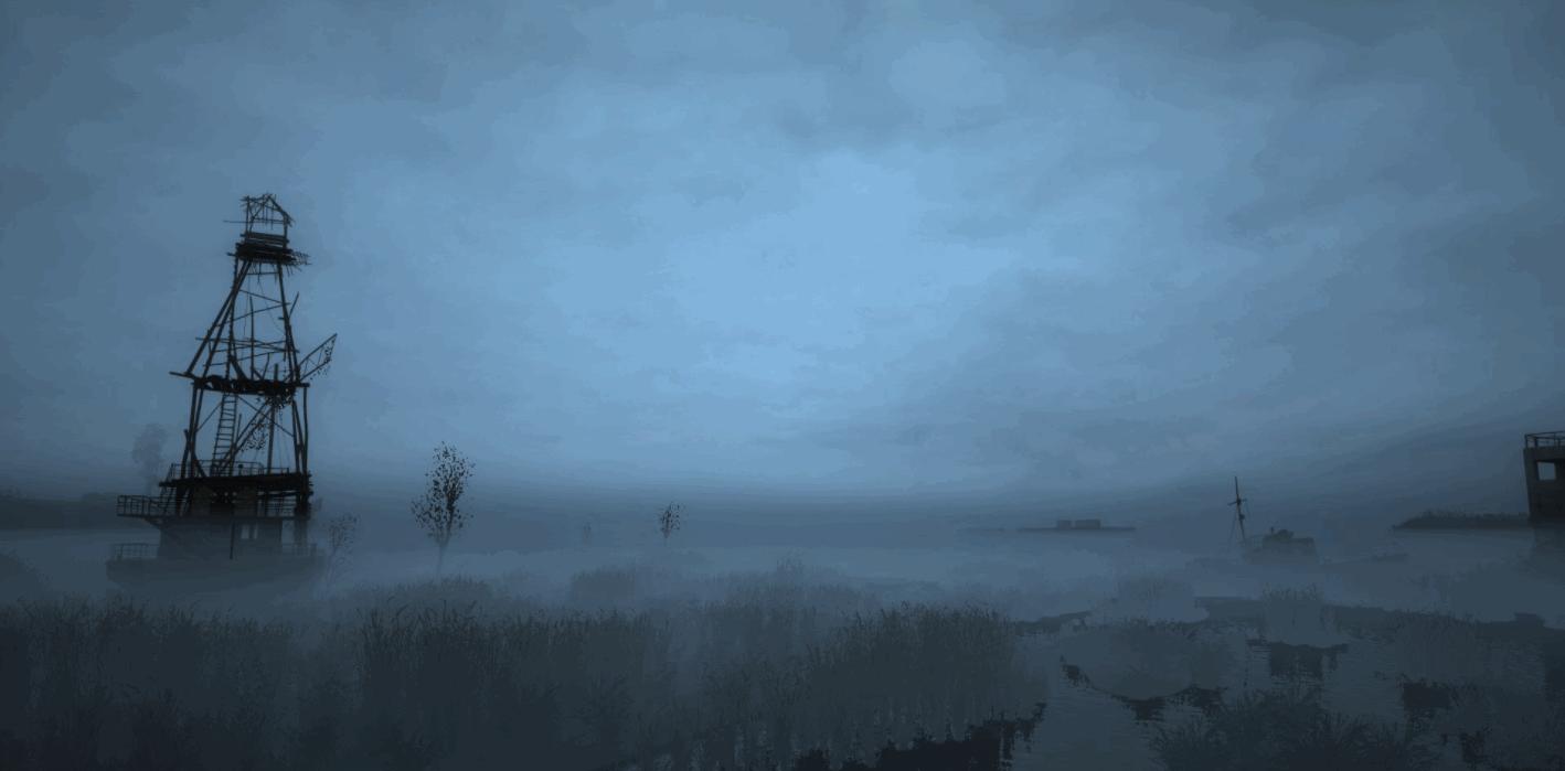 «Global Stalker Weather Rework» - скриншоты с тестов низинного тумана