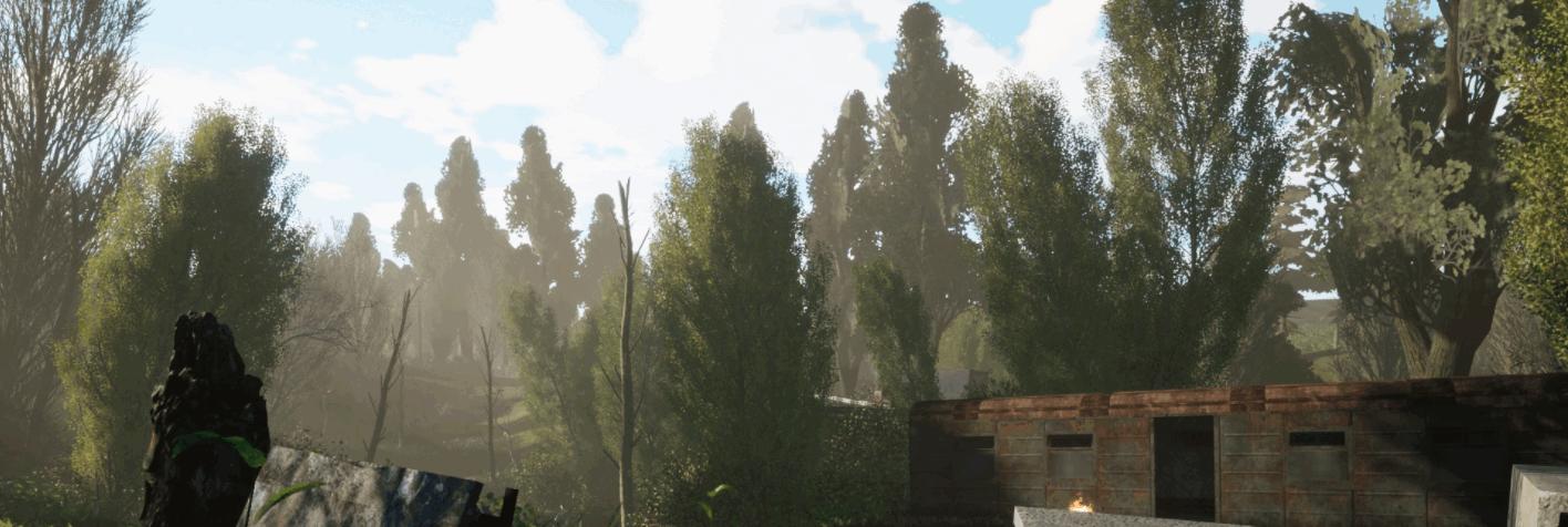 «S.T.A.L.K.E.R.: Unreal Engine 4» - скриншоты с локации «Кордон» и «Болота»