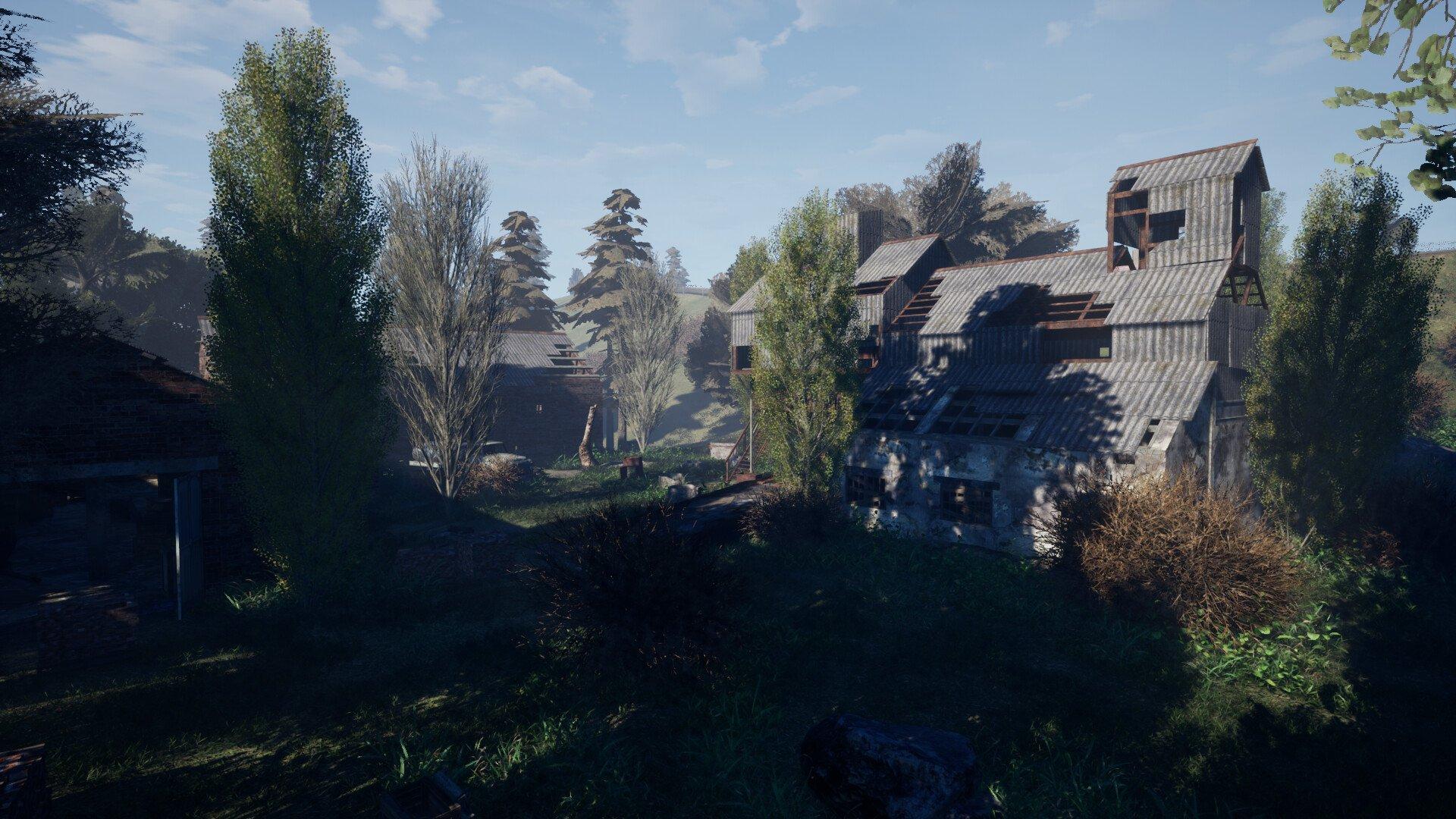 «S.T.A.L.K.E.R.: Unreal Engine 4» - скриншоты локации «Кордон»