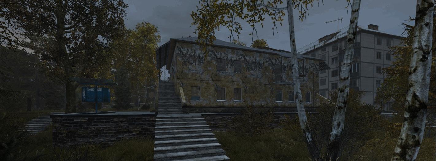 «Area of Decay» - скриншоты центральной части города «Лиманск»