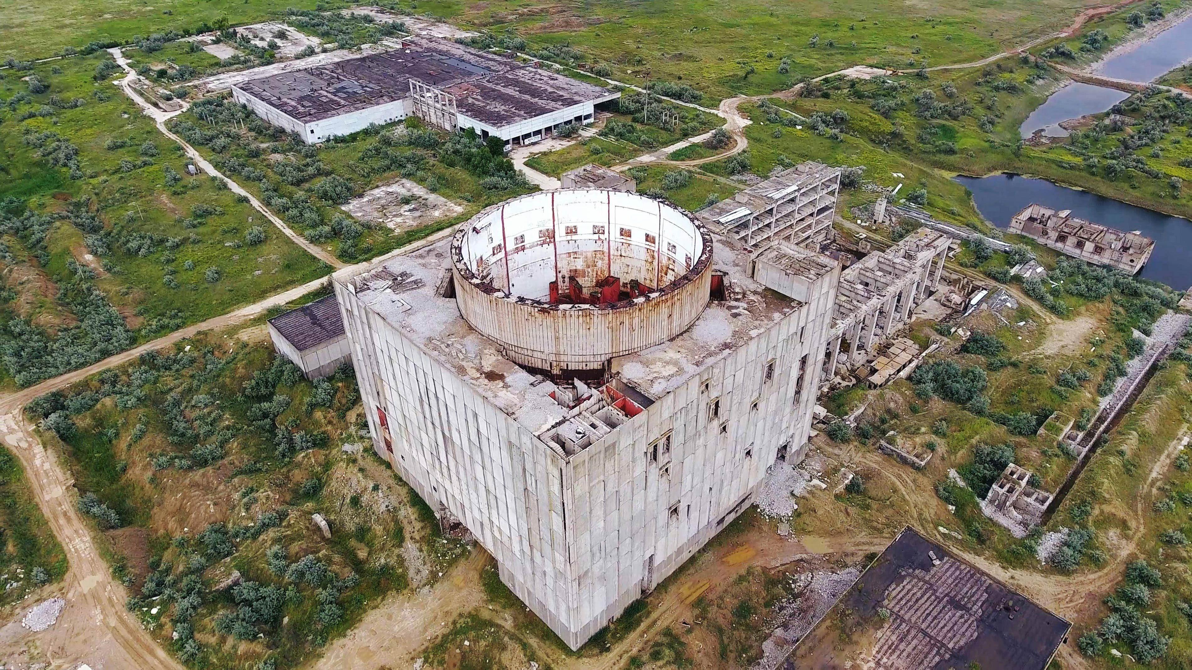 Заброшенные АЭС.