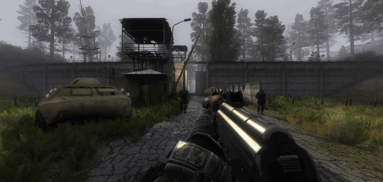 «Lost Alpha DCE - Gunslinger Addon» - немного новых скриншотов от 27.04.21