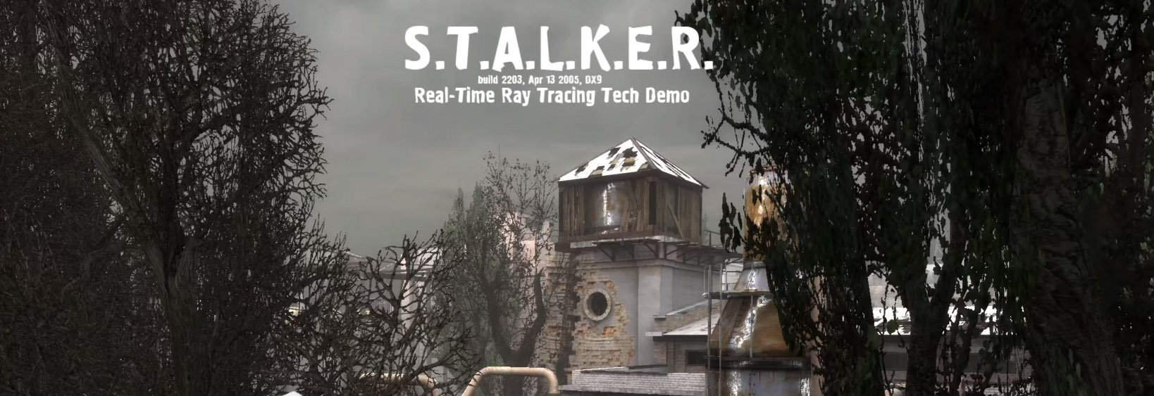 S.T.A.L.K.E.R. Cinematic Real-Time Ray Tracing Tech Demo